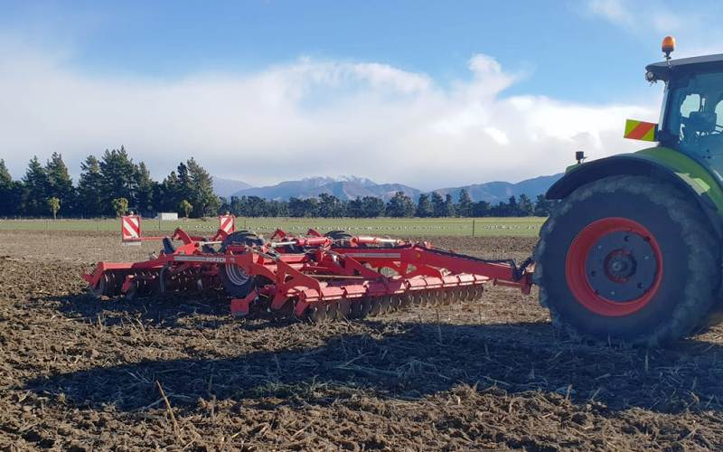 4.5m Horsch Terrano MT Primary Cultivator - Chris Woods Contracting